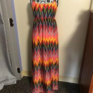 Xhilaration Dresses - Colorful Maxi Dress